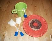 Felt Playfood Tea Bags Set of 3