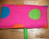 2 Pink Dot Swiffer Covers