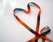 Fall Sheer Ribbon  Beautiful  For Knitting Crochet And Crafts