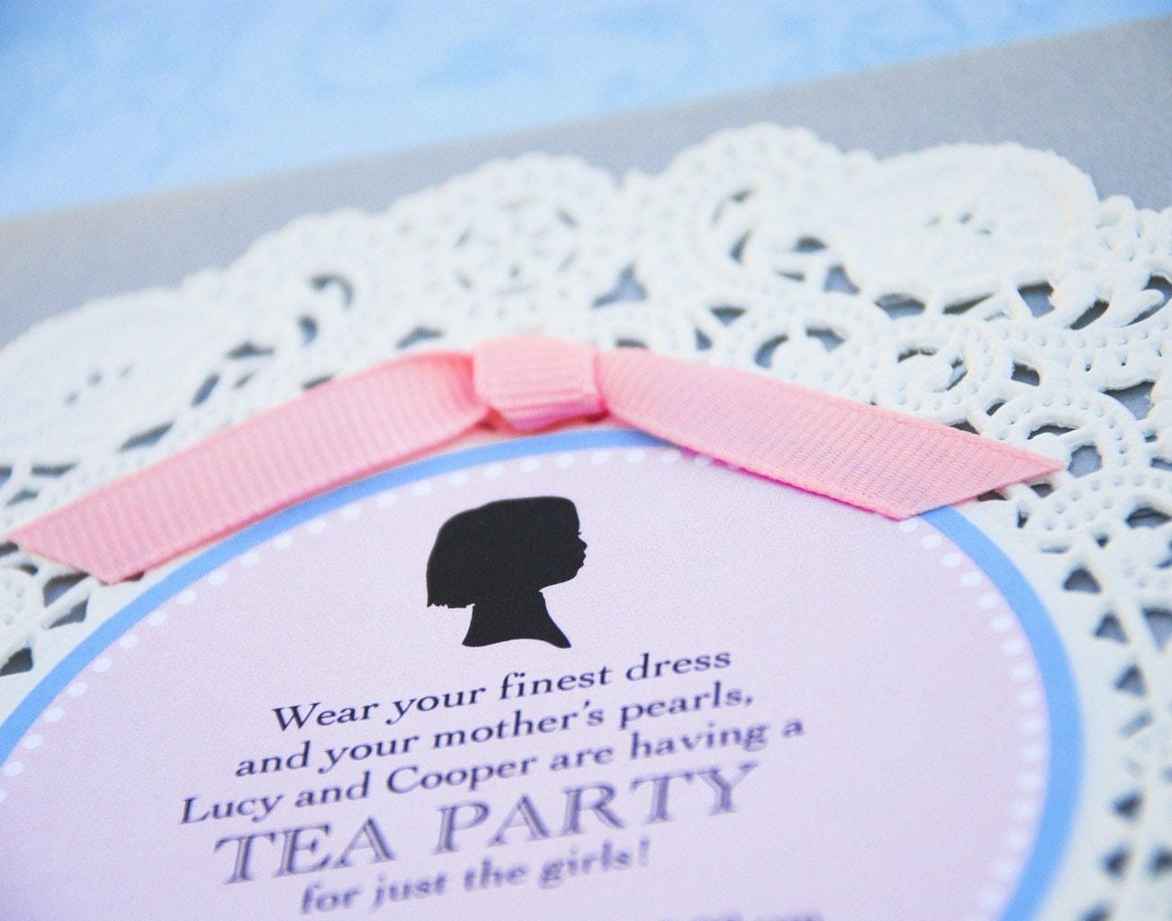 High Tea Invitations Wording is great invitations ideas