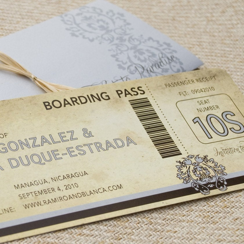 Clay County Tax Receipt Word Vintage Damask Boarding Pass With Sleeve Save The Date Work Receipt with What Is Sales Receipt Word Zoom Easy Online Invoice Word