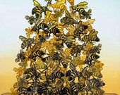 Bee Pile Colony Collapse Disorder Print