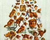 Vintage Lassie Pile Collage