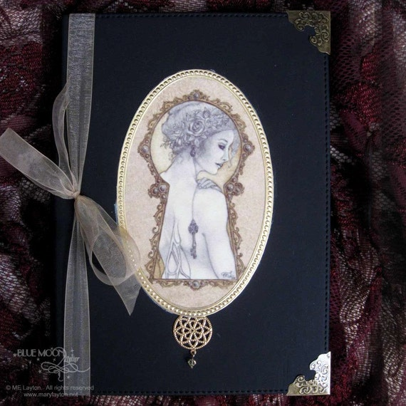 Mistress of the Key Hand Embellished Journal