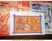 Sometimes You Just Know... a LINZIE HUNTER print SIGNED & Art Bureau #11