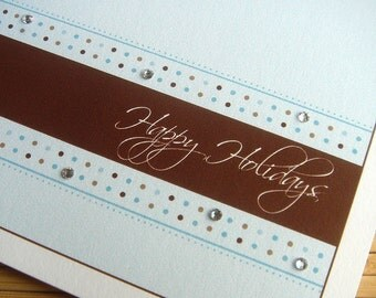 Holiday Dots Folded Cards