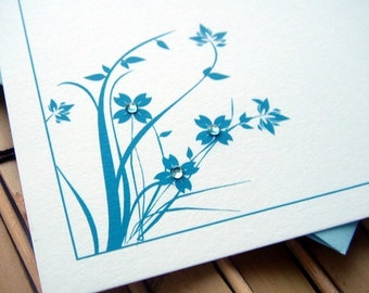Roadside Blooms Flat Note Cards - Set of 12