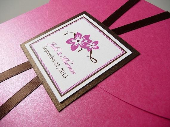 Sweet Blossoms Wedding Invitations