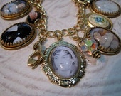 Jane Austen Bracelet of Literary Charms