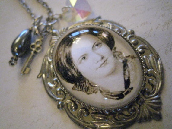 Charlotte Bronte Necklace of Charms