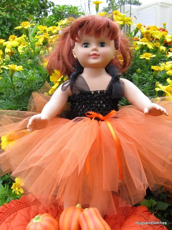 Halloween Outfit for American Girl and other 18 inch dolls