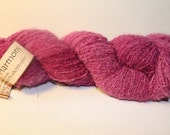 HOT WEATHER SALE ON WOOL MOHAIR AND SILK YARN FROM WOOL IN THE WOODS