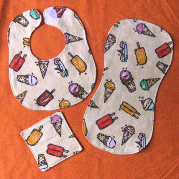 Wash Cloths As Burp Cloths: Baby Doll Bib Burp Cloth And Washcloth Set By