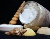 Almond Creme Hair Conditioning Cream 10 Ounces Deep Conditioning Treatment by Toadstool Soaps
