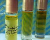 Dragon Blood Perfume Oil Roll On Perfumed Organic Jojoba Body Oil made by Toadstool Soaps