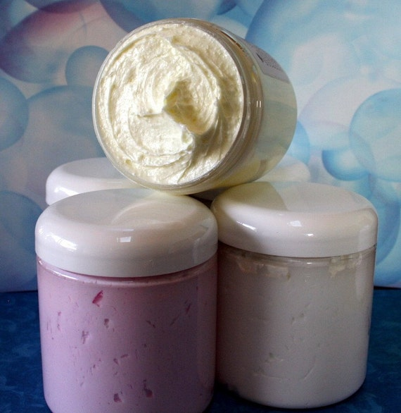 Firefly Dance Bath Mousse Whipped Creamy Shower Soap Olive Oil Shea Butter by Toadstool Soaps