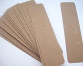 chipboard bookmark blanks with rounded corners - set of 20 - krazykatedesigns