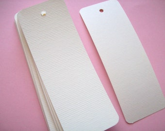 Bookmark blanks - soft white