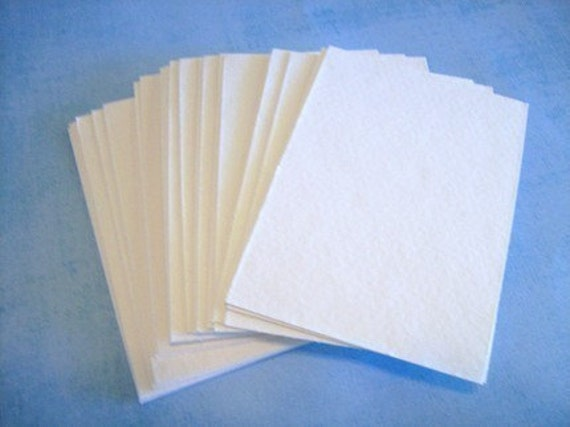 ACEO Blanks watercolor cold press paper