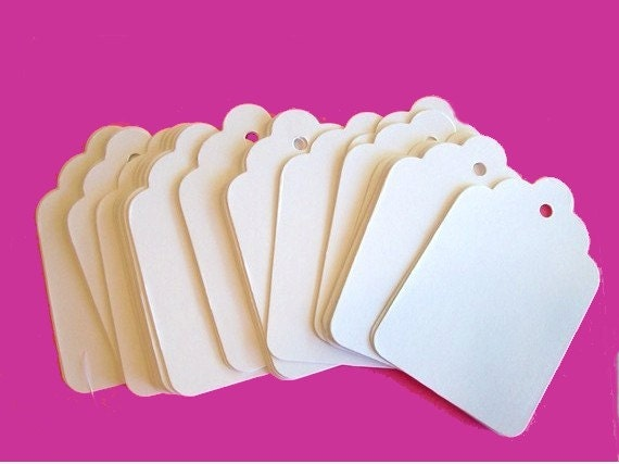 Gift Tags, Large Tags, Set of 50, Wedding Favor, Tags
