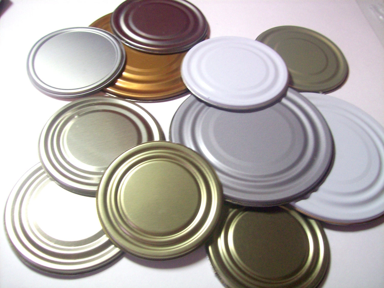 Tin Cans With Lids Crafts