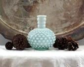 Fenton Hobnail Perfume Bottle Vase
