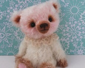 Artist Original Snowflake Bear by Lollihops -  Smiling Friend for Life.
