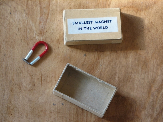 Smallest Magnet in the World