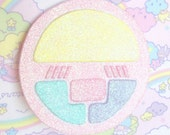 Creamy Mami Compact Magical Girl Fairy Kei Sparkly Pin / Hair Clip