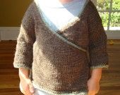 Wrap Sweater, size 2T/3T