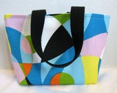 Colorful Tote Purse Mini Kaleidoscope Great Gift Bag  Ready to Ship