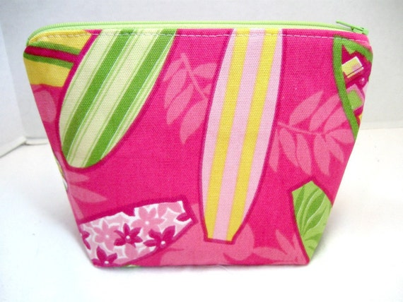 Make Up Bag Surfboards Cosmetic Pouch