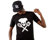 Pirate Chef - Mens T-Shirt Black