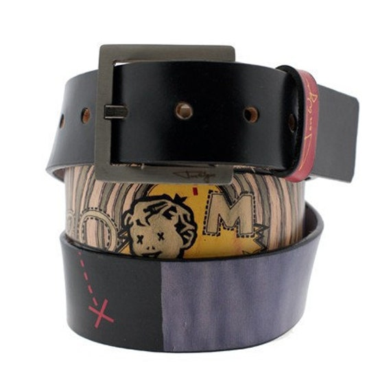 BOOM Leather Belt for Men and Women