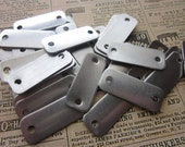5 Small Aluminum Rectangle Blanks - 18 Gauge