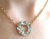 Green Birds Necklace