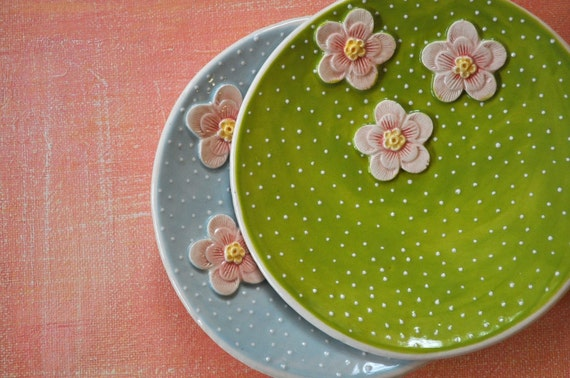 The Dotted Lime- tidbit plate