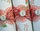 SWEET STRAWBERRIES and POSIES Vintage Wallpaper Pack