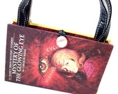 Book  Purse Nancy Drew Mystery of the Glowing Eye Book Handbag Upcycled Book Bag