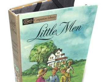 Ereader Cover for Kindle Nook Kobo Vintage Little Men Book Cover for Tablet Devices Geekery Gadget