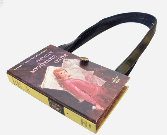 Nancy Drew Book  Purse: Shoulder Bag Handbag