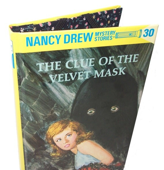 Tablet Device Cover - Nancy Drew Clue of Velvet Mask Book Ereader Case - Kindle cover