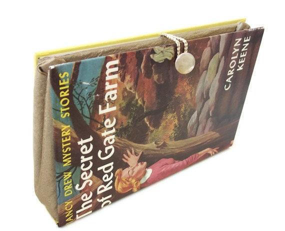 Nancy Drew Book Purse Clutch - Red Gate Farm