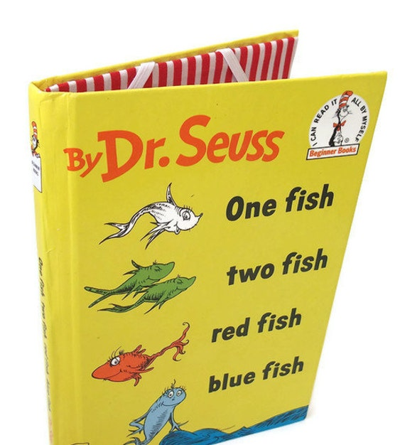 Ereader cover for kindle kobo nook dr seuss book one fish for Book with fish on cover