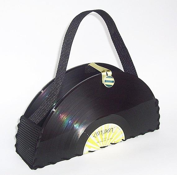 Rolling Stones Vinyl Record Purse Handbag