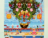 8bit Art - Cabana Fever - 18x24 Poster