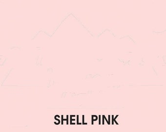 CLEARANCE SALE shell pink ink pad for your rubber stamp