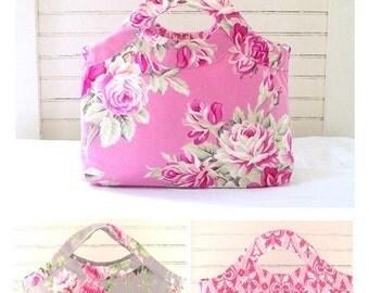 Tanya Whelan Reversable Ava Hand Bag Pattern Purse grand revival handbag