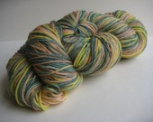 Reserved for jo33 - Daffodils Superwashed Bluefaced Leicester 4ply/Fingering Weight Sock Yarn