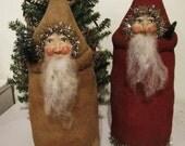 Primitive Santa Belsnickel Christmas Pattern ETSYFOLK